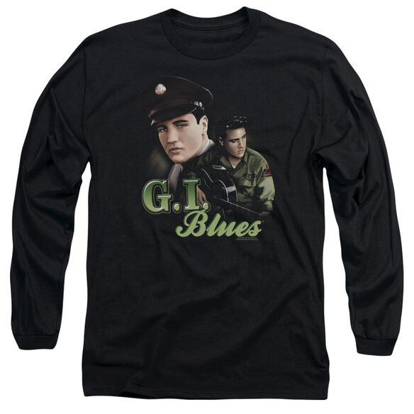Elvis Presley G I Blues Long Sleeve Adult T-Shirt