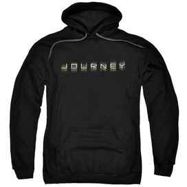 Journey Repeat Logo Adult Pull Over Hoodie
