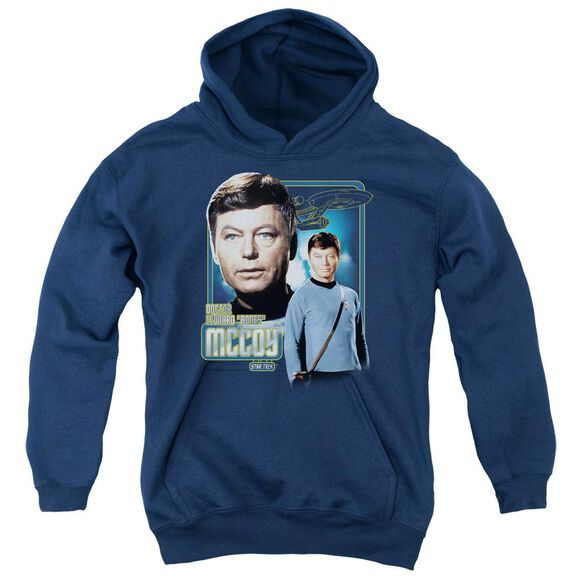 Star Trek Doctor Mccoy Youth Pull Over Hoodie