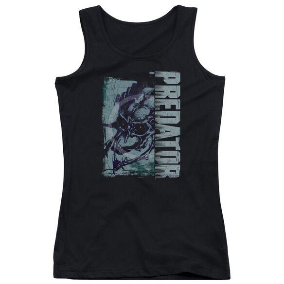 Predator Yautja Skull Juniors Tank Top