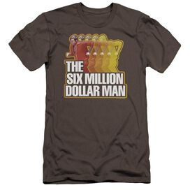 Six Million Dollar Man Run Fast-premuim Canvas Adult Slim