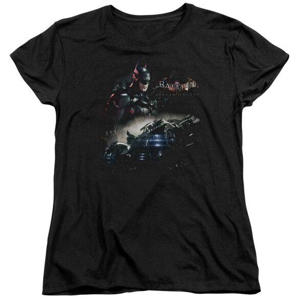 Batman Arkham Knight Knight Rider Short Sleeve Womens Tee T-Shirt