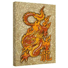 Oriental Dragon Quickpro Artwrap Back Board