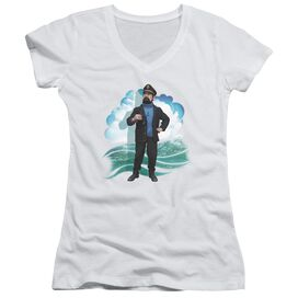 Tintin Haddock Junior V Neck T-Shirt