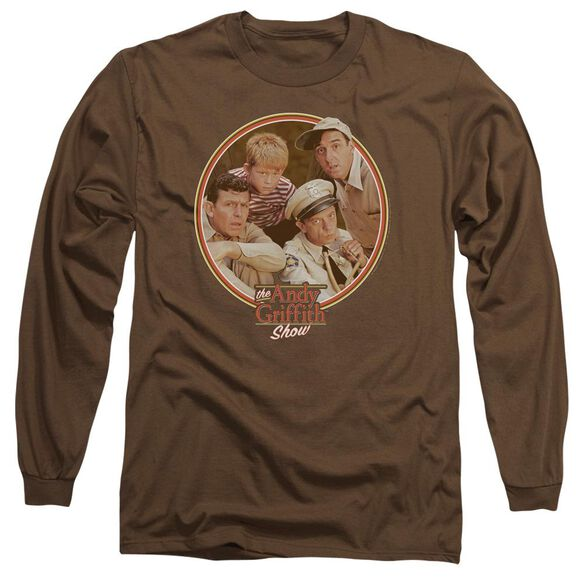 Andy Griffith Boys Club Long Sleeve Adult T-Shirt