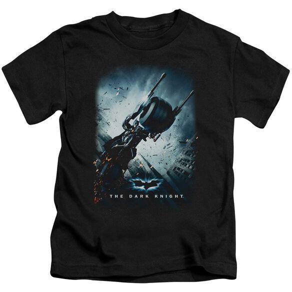 Dark Knight Bat Pod Poster Short Sleeve Juvenile T-Shirt