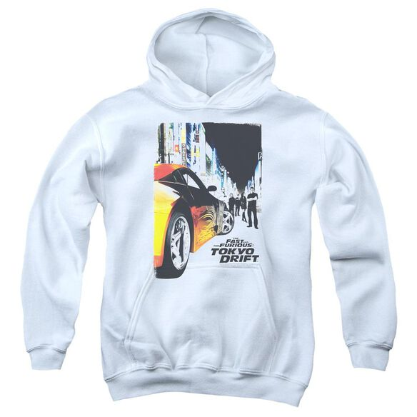 Tokyo Drift Poster Youth Pull Over Hoodie