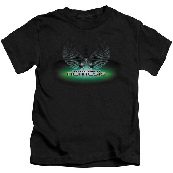 Star Trek Nemesis(Movie) Short Sleeve Juvenile Black T-Shirt