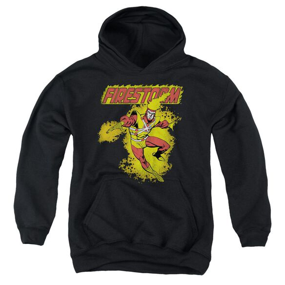 Dc Firestorm Youth Pull Over Hoodie