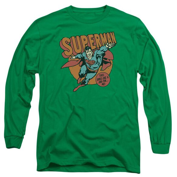 Dc Job For Me Long Sleeve Adult Kelly T-Shirt