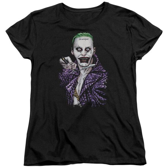 Suicide Squad Blade Short Sleeve Womens Tee T-Shirt