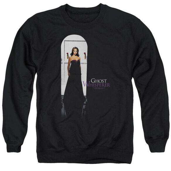 Ghost Whisperer Doorway - Adult Crewneck Sweatshirt - Black