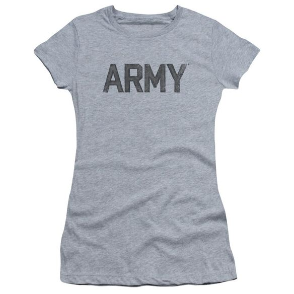 Army Star Short Sleeve Junior Sheer Athletic T-Shirt