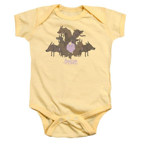 Adventure Time Lsp & Wolves Infant Snapsuit Banana