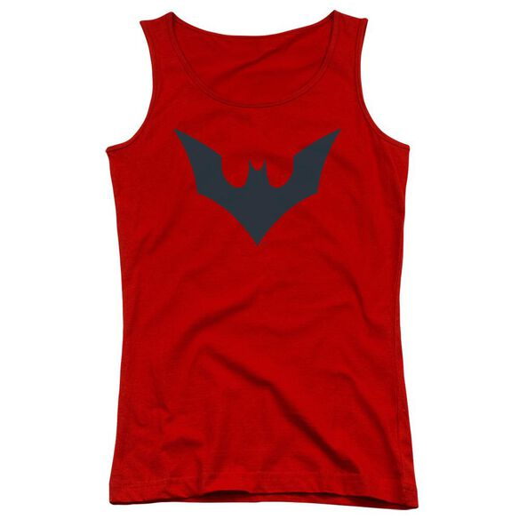Batman Beyond Beyond Bat Logo Juniors Tank Top