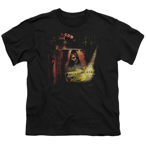 Mirrormask Big Top Poster Short Sleeve Youth T-Shirt