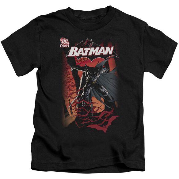 Batman #655 Cover Short Sleeve Juvenile Black T-Shirt