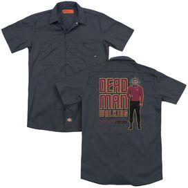 Star Trek Dead Man Walking (Back Print) Adult Work Shirt