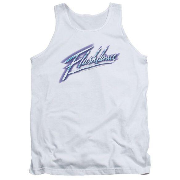 Flashdance Logo Adult Tank