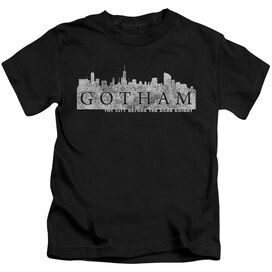 Gotham Skyline Logo Short Sleeve Juvenile T-Shirt