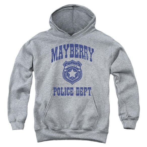 Andy Griffith Show Mayberry Police Youth Pull Over Hoodie Athletic
