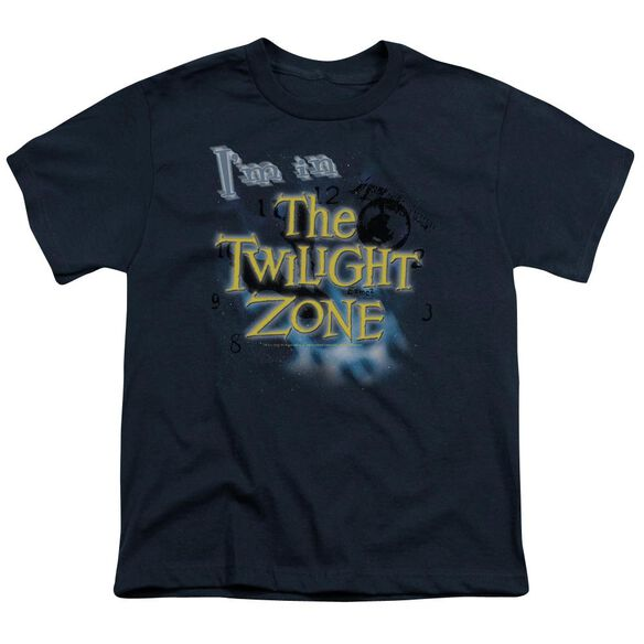 TWILIGHT ZONE IM IN THE TWILIGHT ZONE - S/S YOUTH 18/1 - NAVY T-Shirt