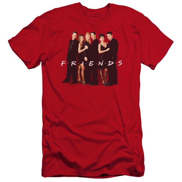 Friends Cast In Black Premuim Canvas Adult Slim Fit
