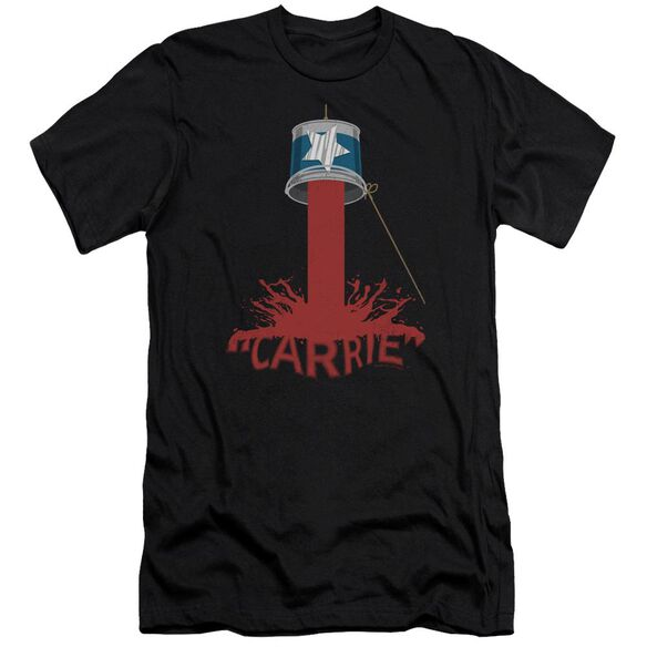 Carrie Bucket Of Blood Premuim Canvas Adult Slim Fit