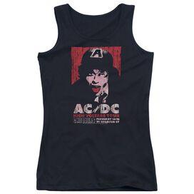 Acdc High Voltage Live 1975 Juniors Tank Top