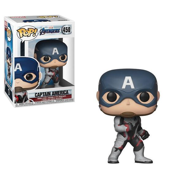 Funko Pop Marvel Avengers Endgame Captain America Fye