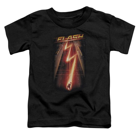 The Flash Flash Ave Short Sleeve Toddler Tee Black T-Shirt