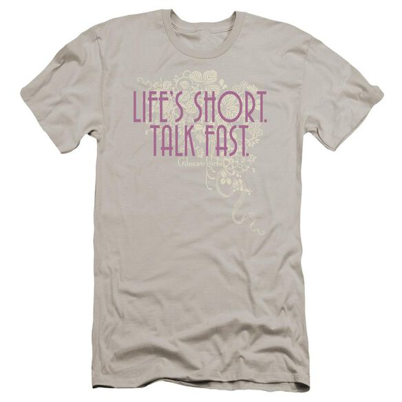 Gilmore Girls Lifes Short Premuim Canvas Adult Slim Fit