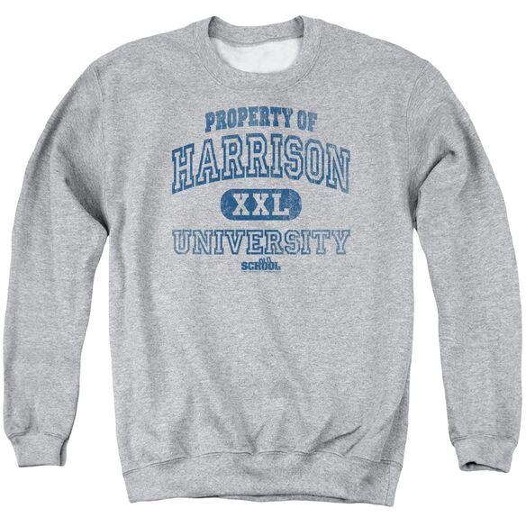 Old School Property Of Harrison Adult Crewneck Sweatshirt Athletic