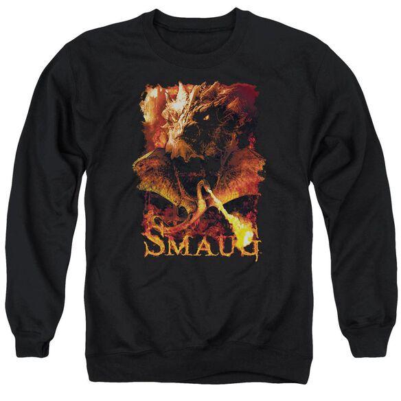 Hobbit Smolder Adult Crewneck Sweatshirt