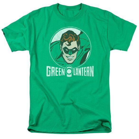 Dc Lantern Circle Short Sleeve Adult Kelly Green T-Shirt