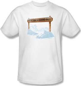 Its a Wonderful Life Bedford Falls T-Shirt