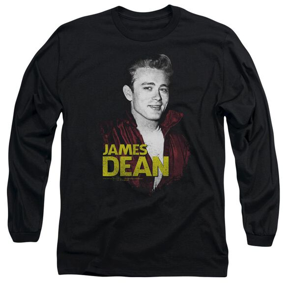 Dean Red Jacket Long Sleeve Adult T-Shirt