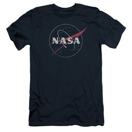 Nasa Distressed Logo Short Sleeve Adult T-Shirt