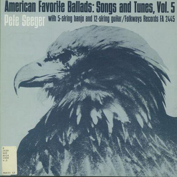 Pete Seeger - American Favorite Ballads Vol 5