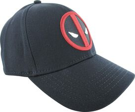 Deadpool Logo Red Under Visor Flex Hat