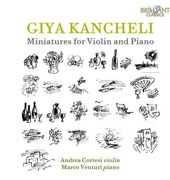Miniatures For Violin & Piano