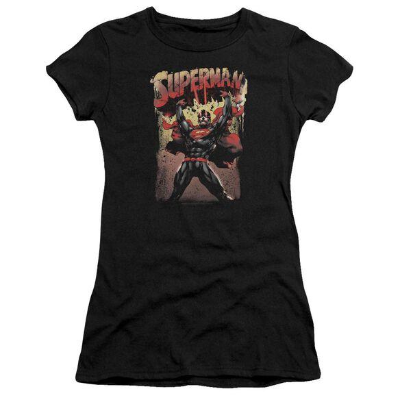 Superman Lift Up Premium Bella Junior Sheer Jersey