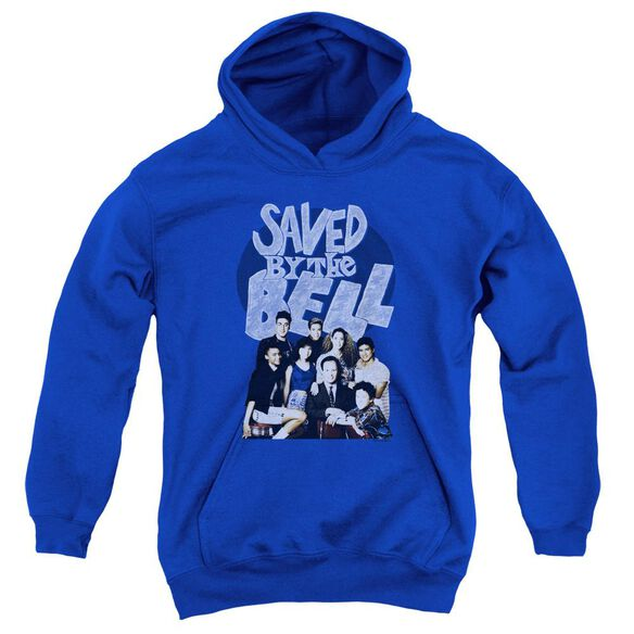 Saved By The Bell Retro Cast Youth Pull Over Hoodie