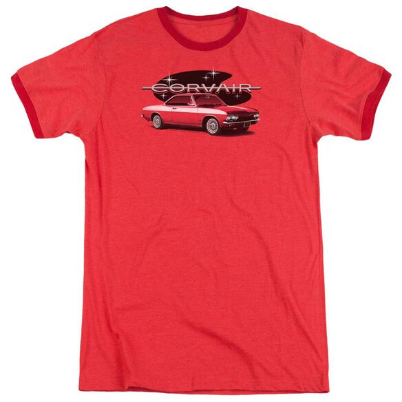 Chevrolet 65 Corvair Mona Spyda Coupe Adult Heather Ringer Red