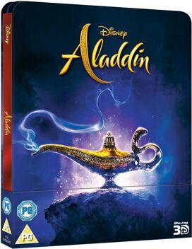 Disney's Aladdin (2019) [Exclusive Zavvi 3D & 2D Blu-ray Steelbook]