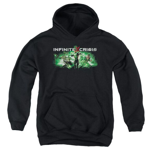 Infinite Crisis Ic Green Youth Pull Over Hoodie