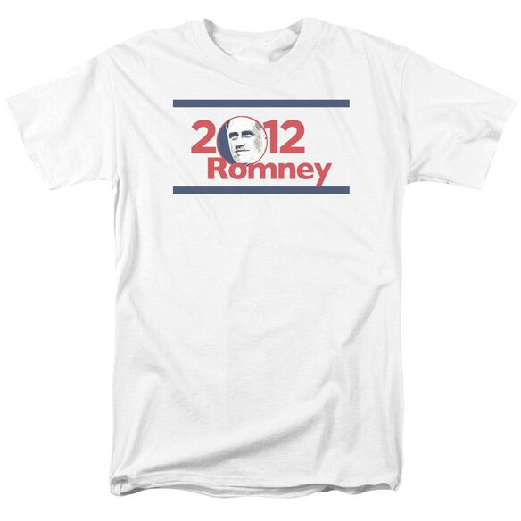 2012 Romney Short Sleeve Adult White T-Shirt