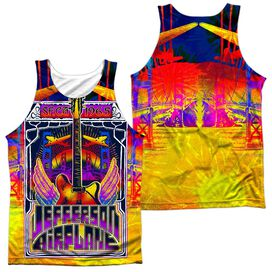 Jefferson Airplane San Francisco (Front Back Print) Adult 100% Poly Tank Top