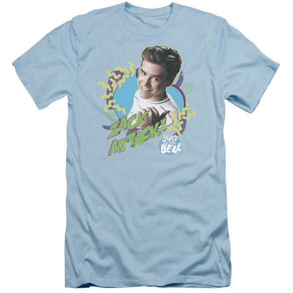 Saved By The Bell Zack Attack Short Sleeve Adult Light T-Shirt