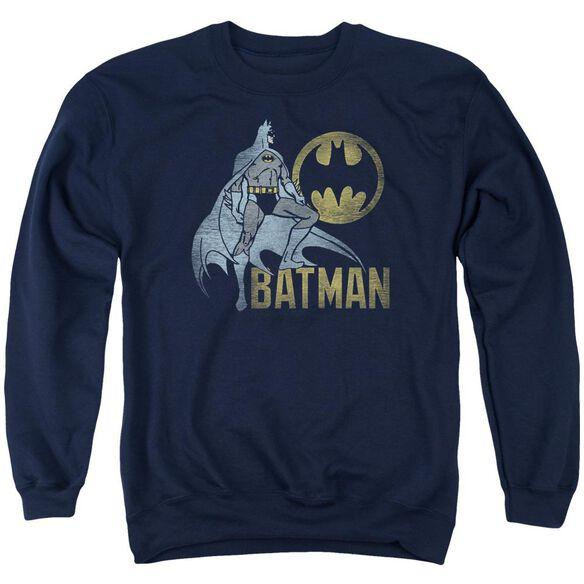 Batman Knight Watch Adult Crewneck Sweatshirt